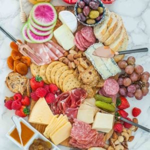 How To Make a Charcuterie Board step-by-step tutorial