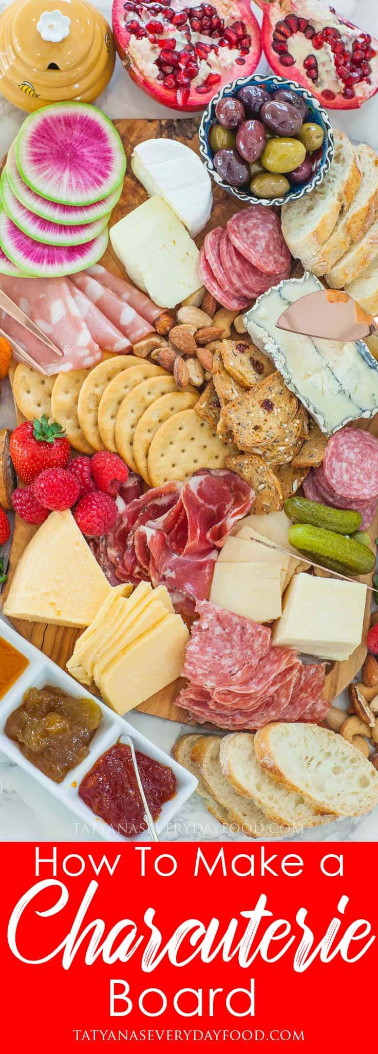 Step-by-Step: How To Make a Charcuterie Board for the holidays