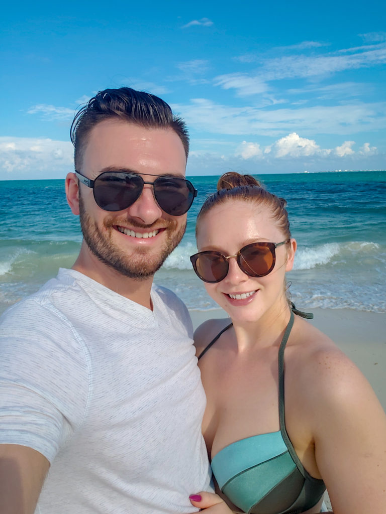 Anatoliy and Tatyana Nesteruk at the ocean