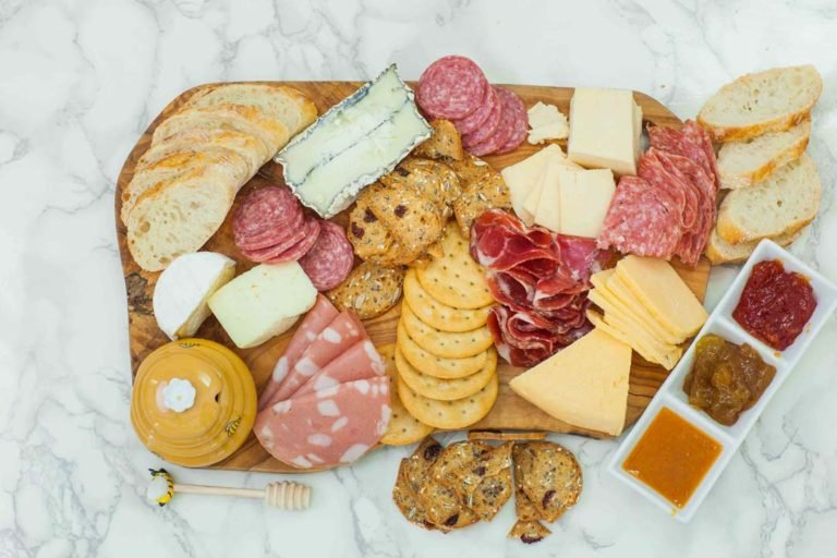 step 4 how to make a charcuterie board