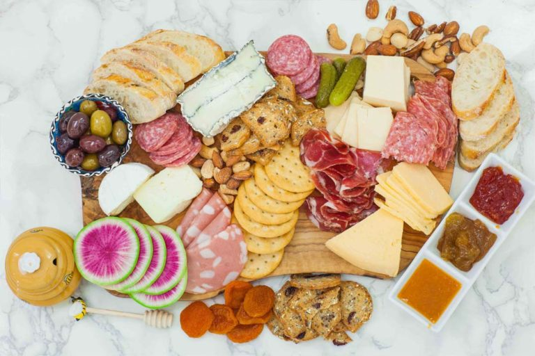 step 6 how to make a charcuterie board