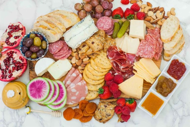 step 7 how to make a charcuterie board