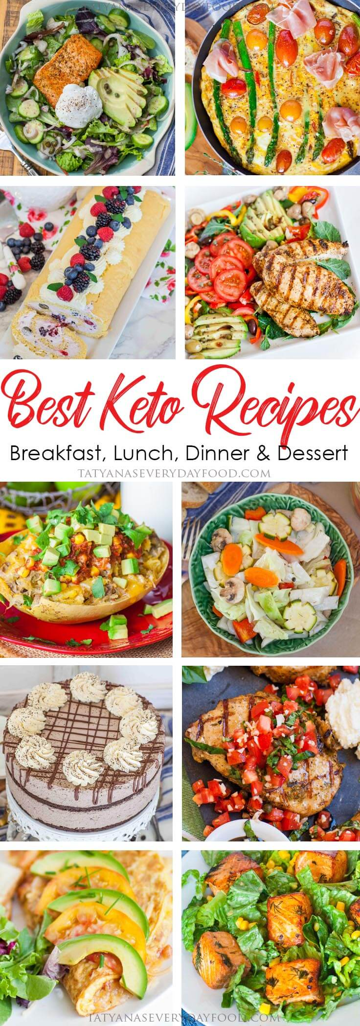 All the best keto recipes in one collection