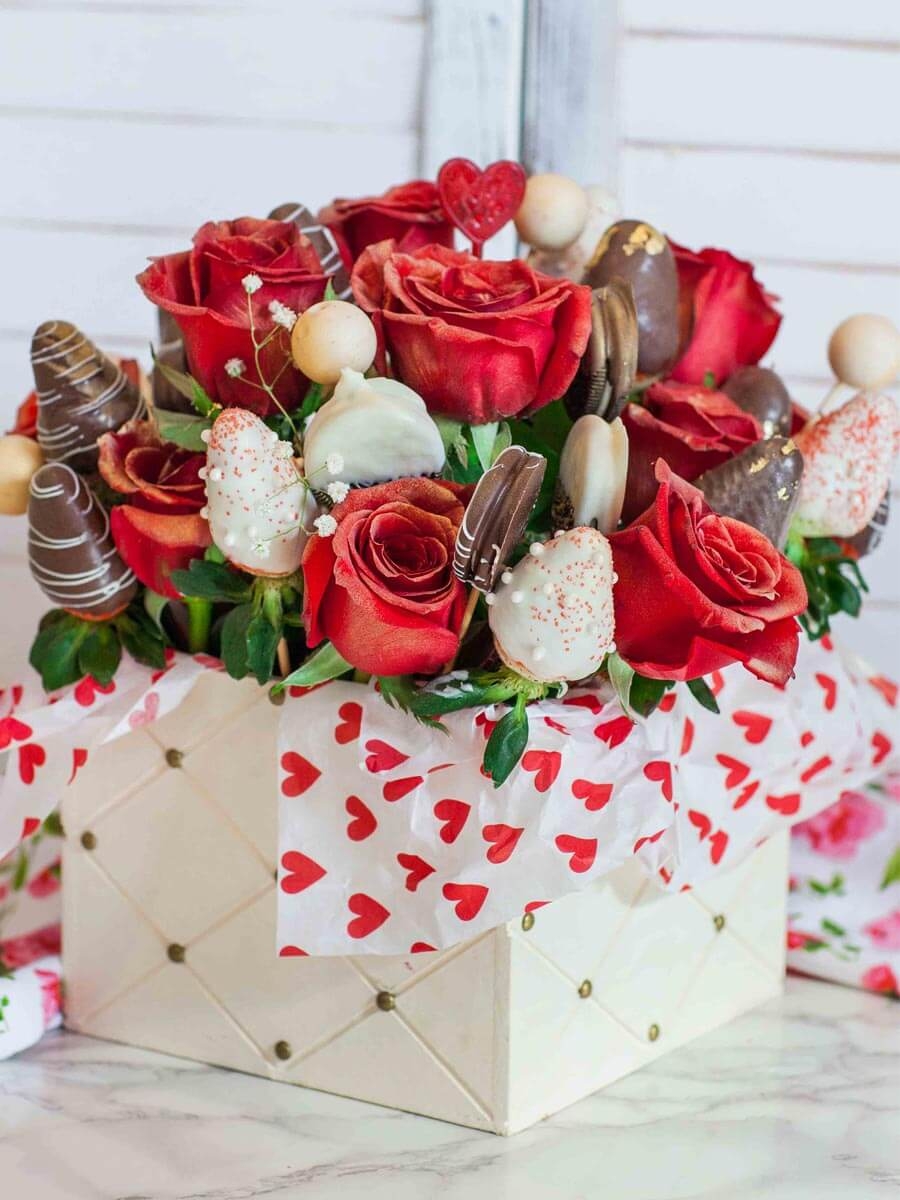 Chocolate Strawberry Bouquet Video Tatyanas Everyday Food
