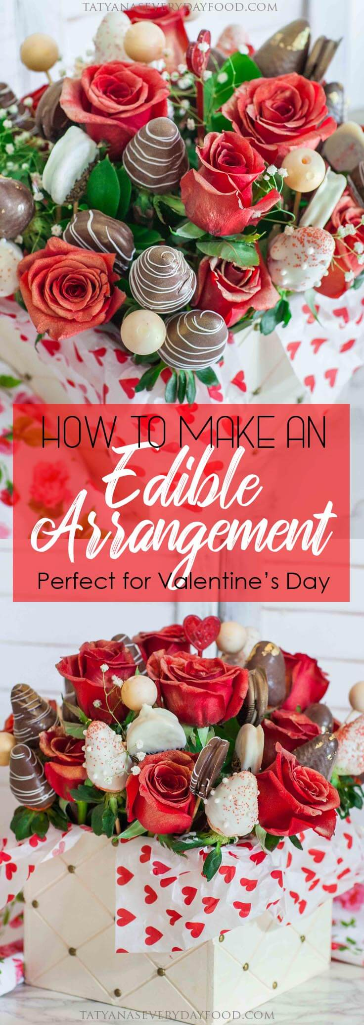 How To Make An Edible Arrangement with video tutorial!