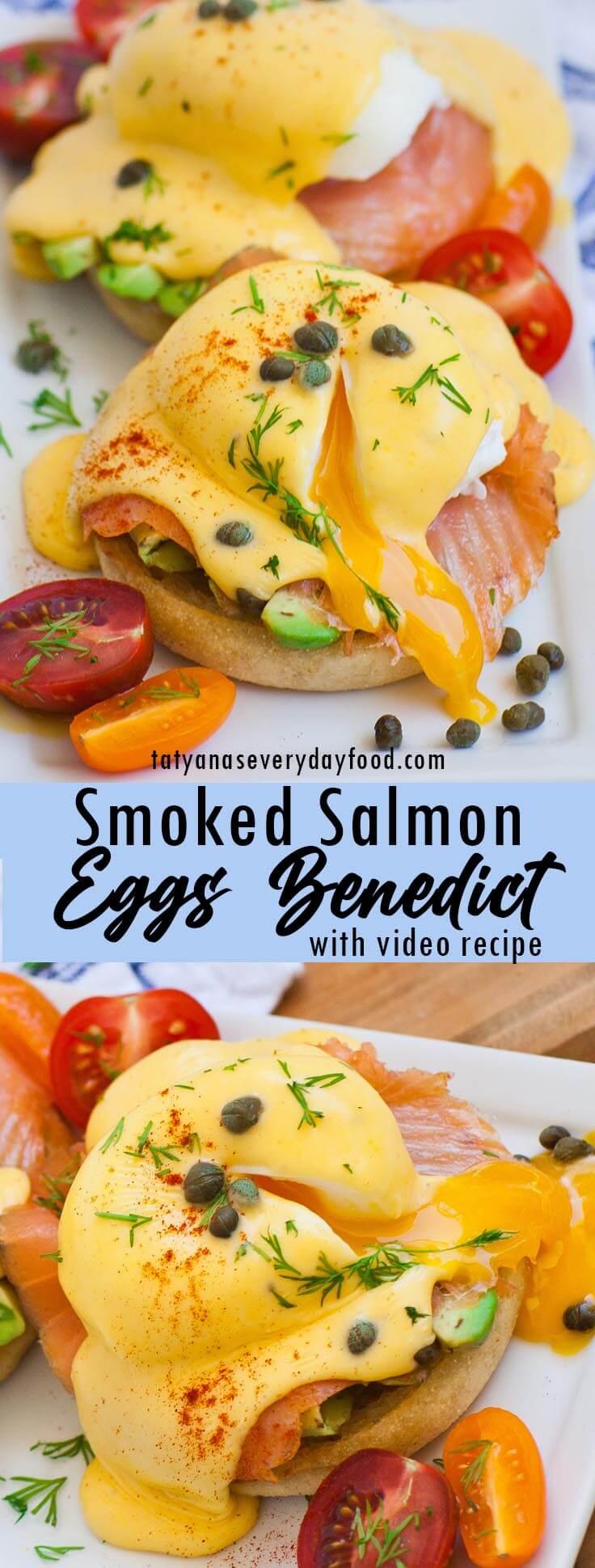Smoked Salmon Eggs Benedict video recipe