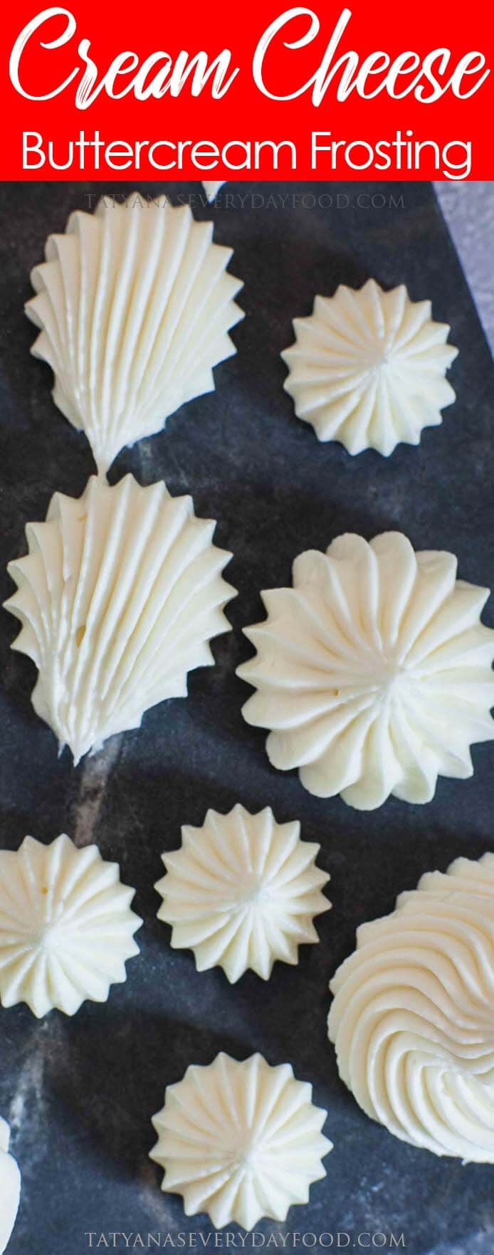 Easy, 5-Ingredient Cream Cheese Frosting recipe