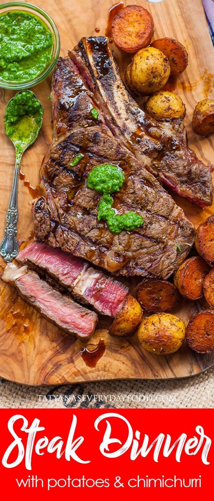 Ribeye Steak Dinner video recipe