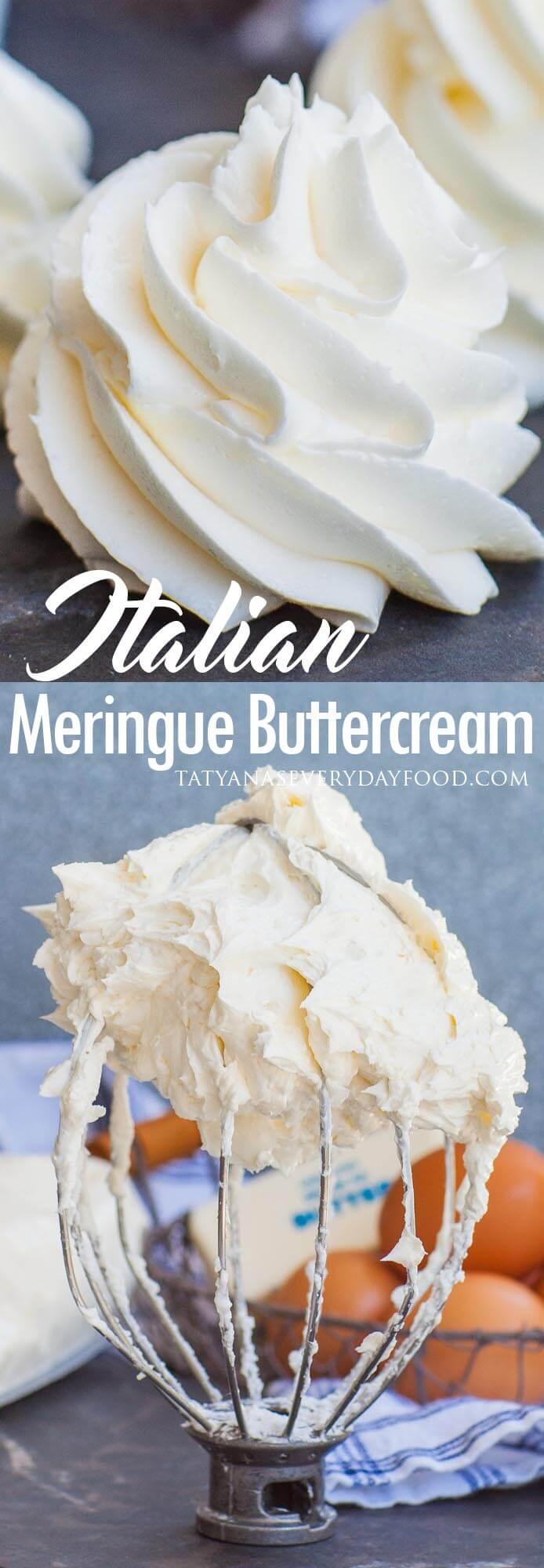 Italian Meringue Buttercream video recipe