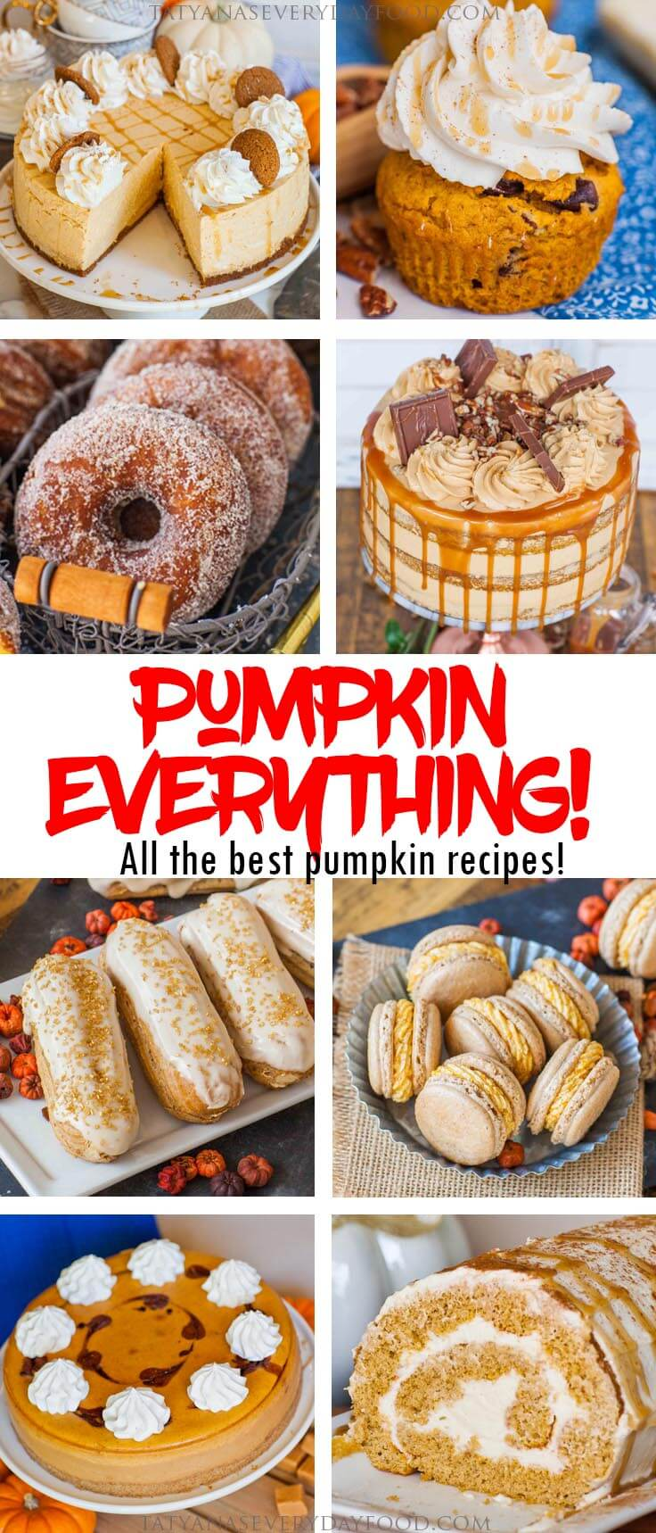 All the Best Pumpkin Recipes! - Tatyanas Everyday Food