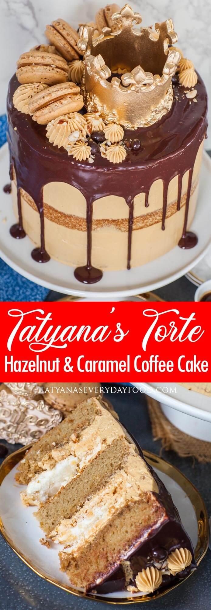 Hazelnut Coffee Cake video recipe