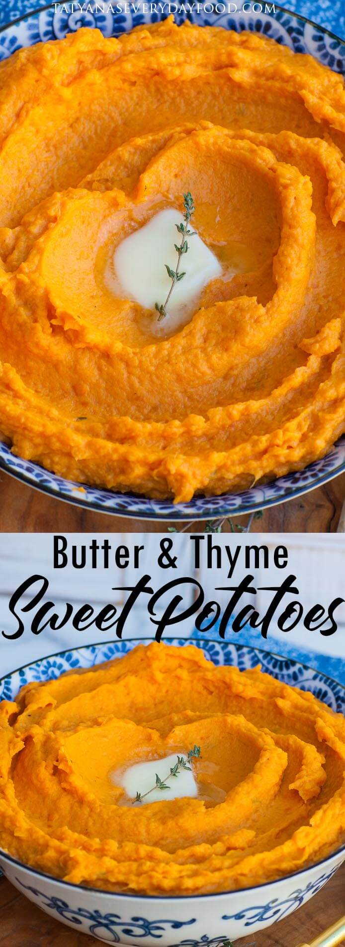 Butter & Thyme Mashed Sweet Potatoes video
