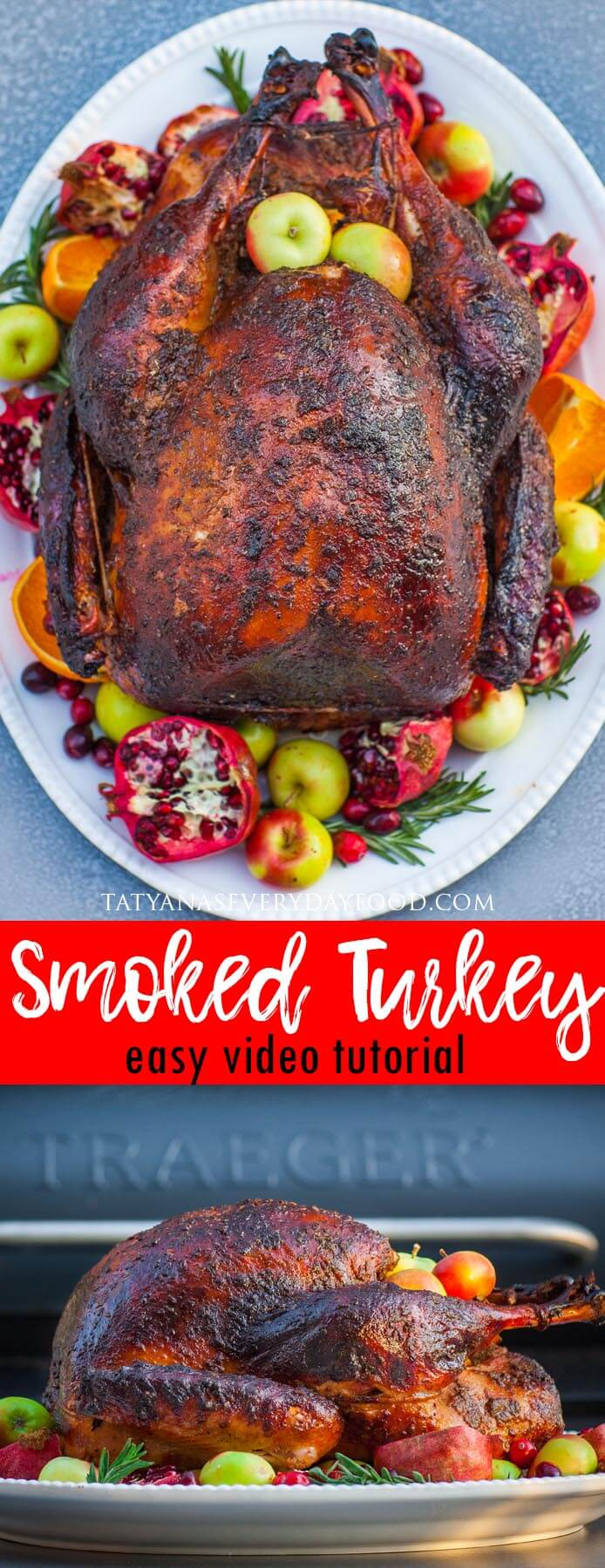 How to Smoke a Turkey Video Tutorial