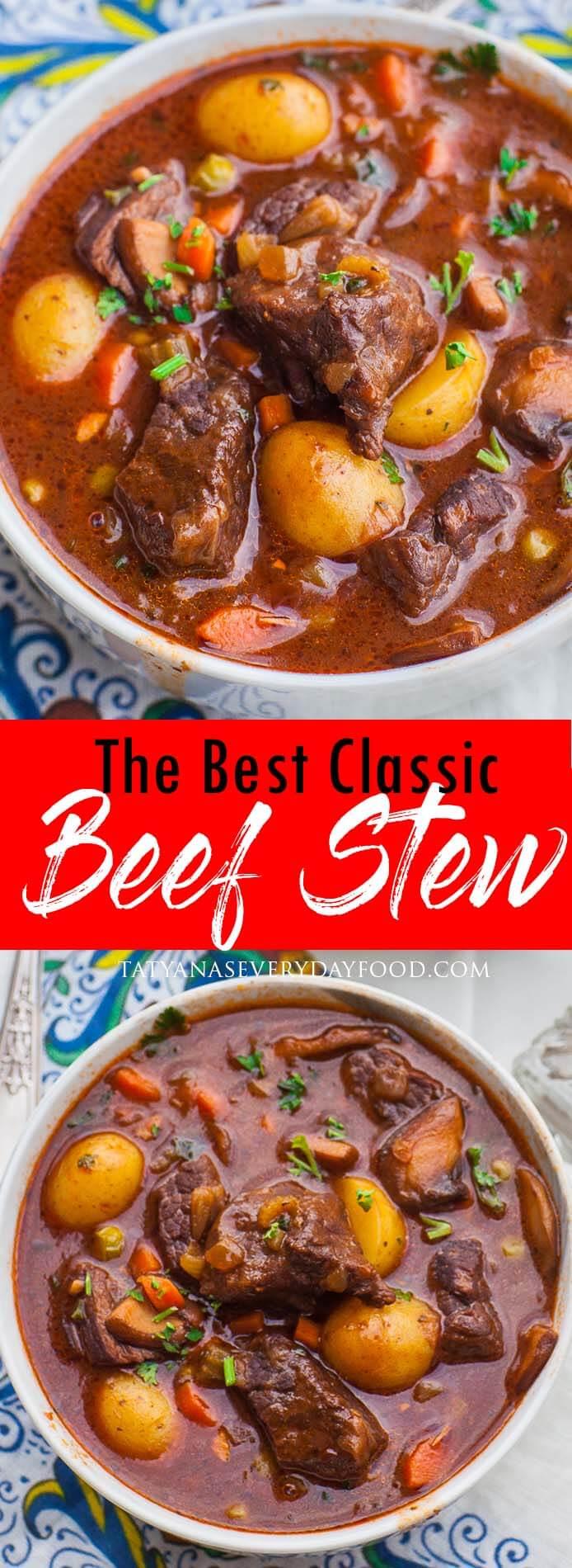 The Best Beef Stew video recipe