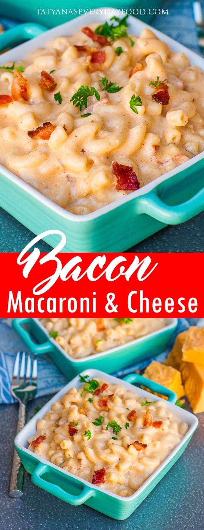 Bacon Macaroni and Cheese video recipe