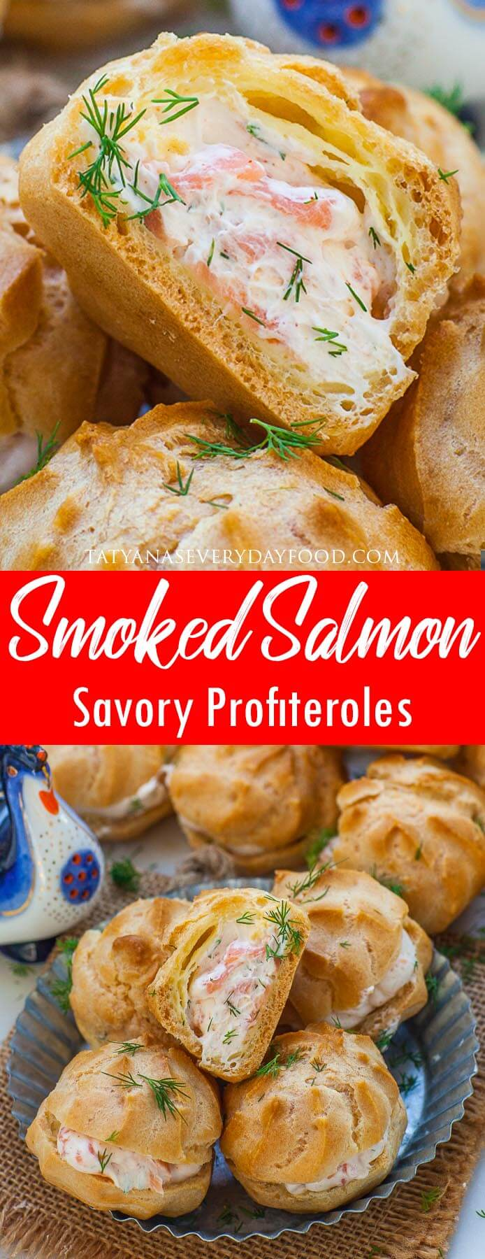 Smoked Salmon Puffs video recipe