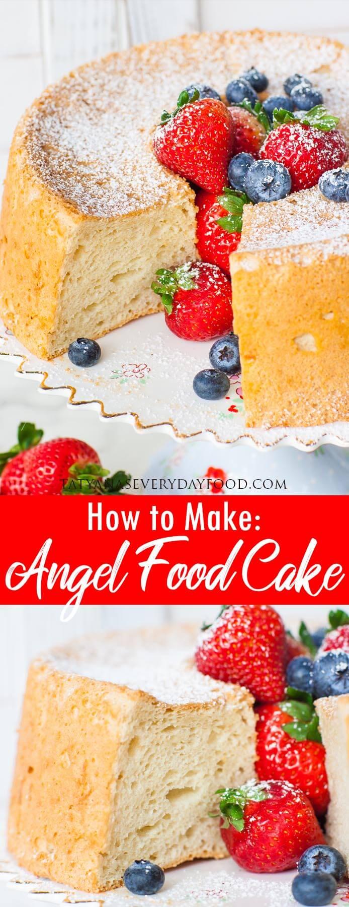 How to Make Angel Food Cake video recipe