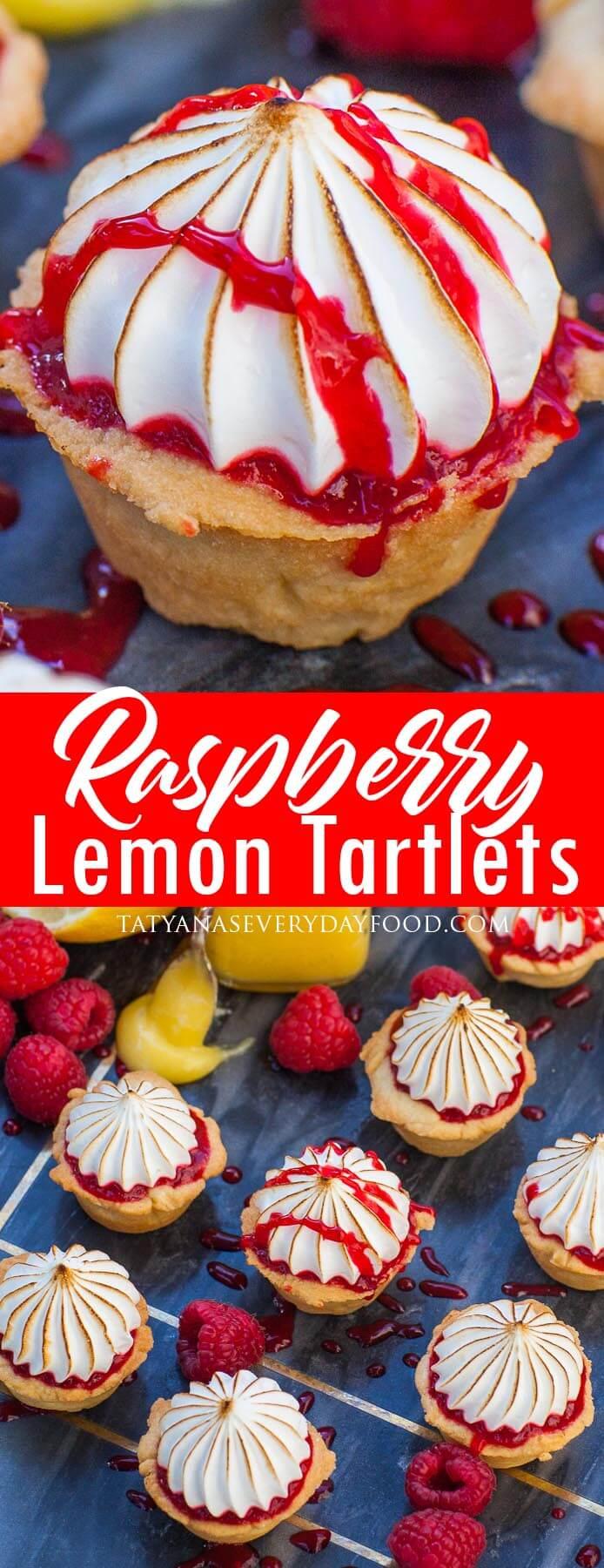 Raspberry Lemon Tartlets video recipe