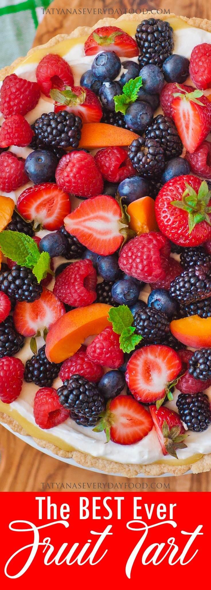 The BEST Ever Fruit Tart video recipe