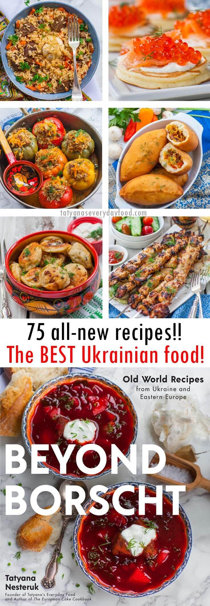 Beyond Borscht Ukrainian cookbook