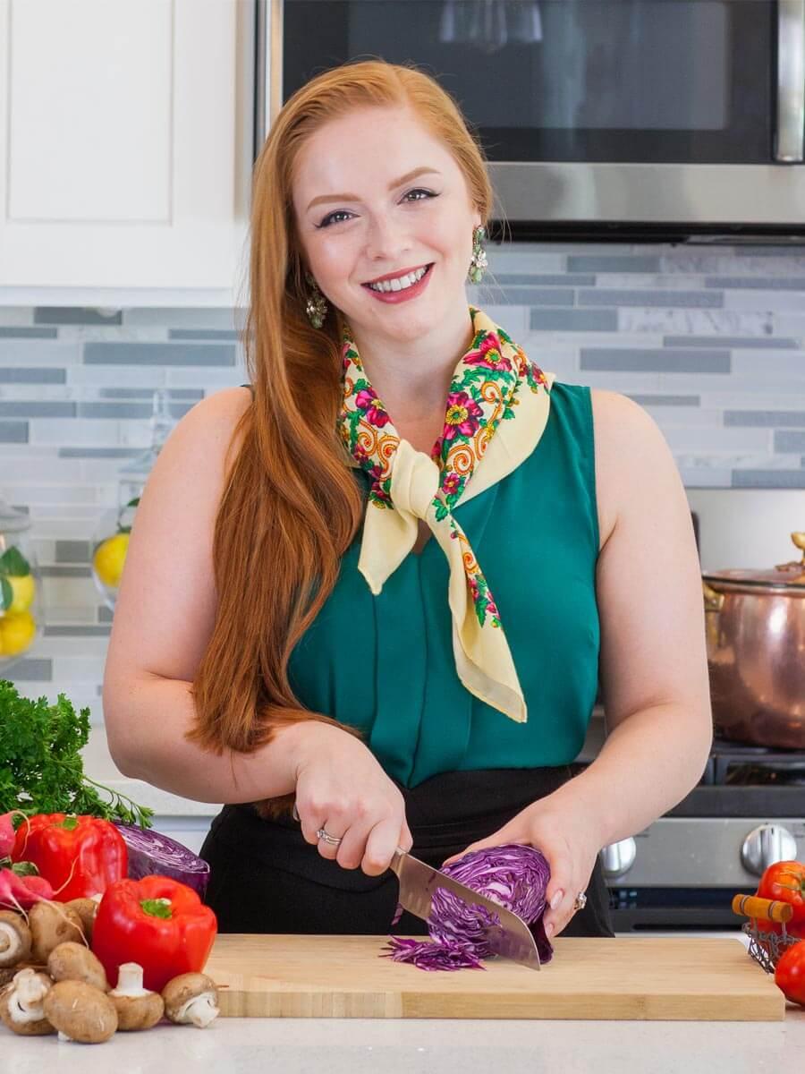 Tatyana Nesteruk cookbook author of Beyond Borscht