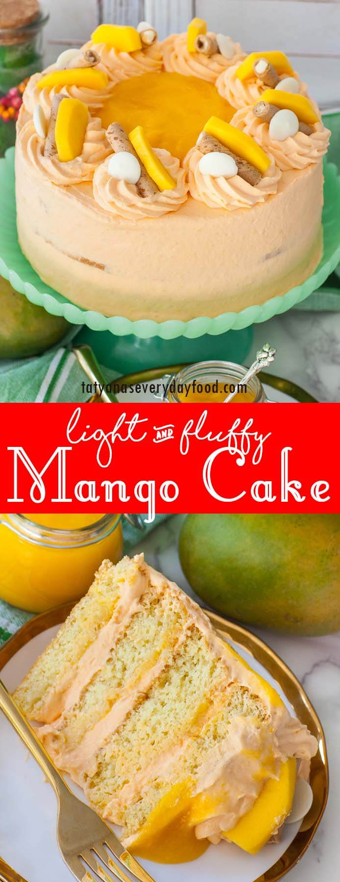 Mango Cake video recipe
