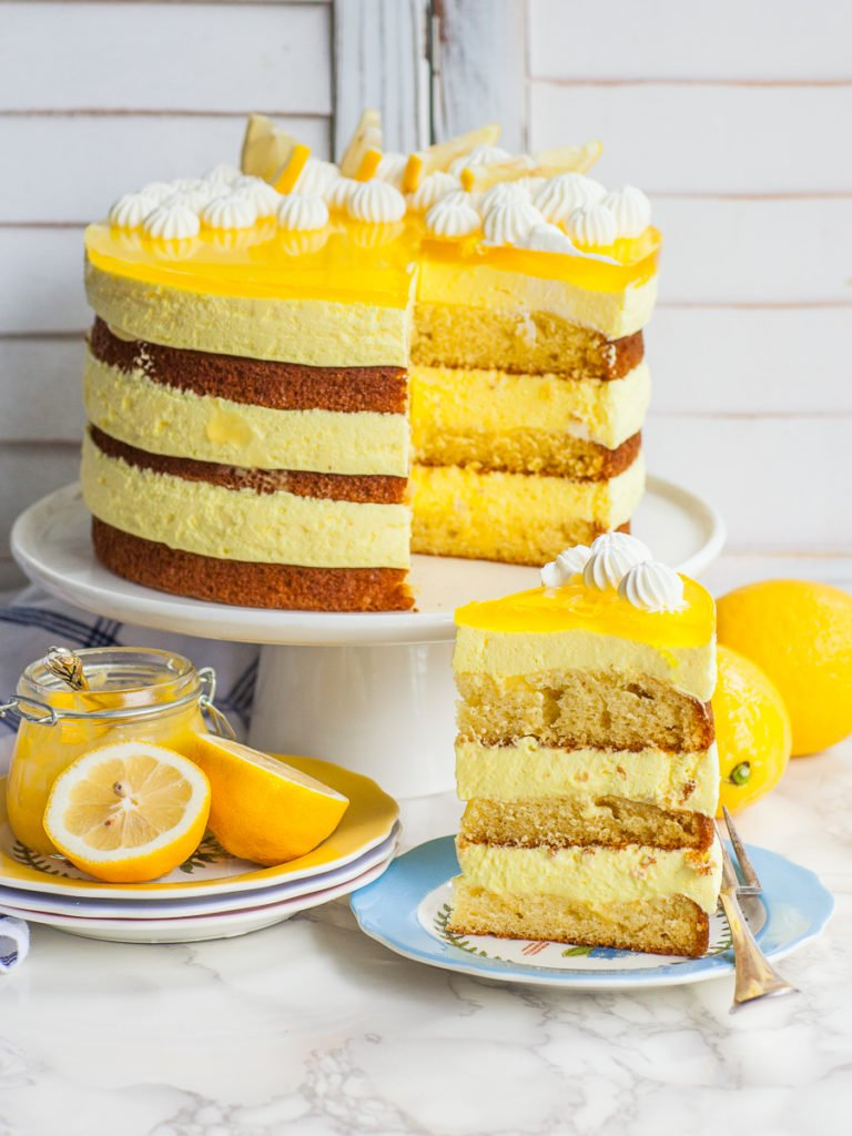 lemon mousse recipe with lemon cake