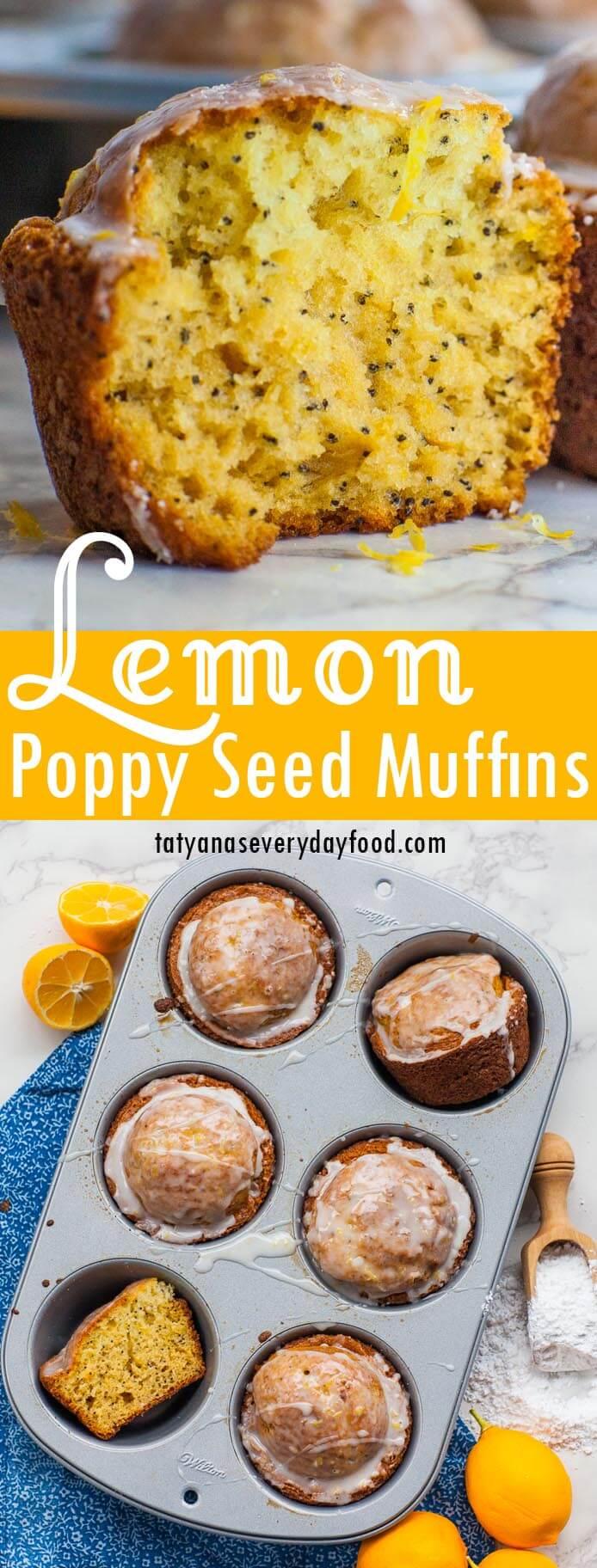 Lemon Poppy Seed Muffins video recipe