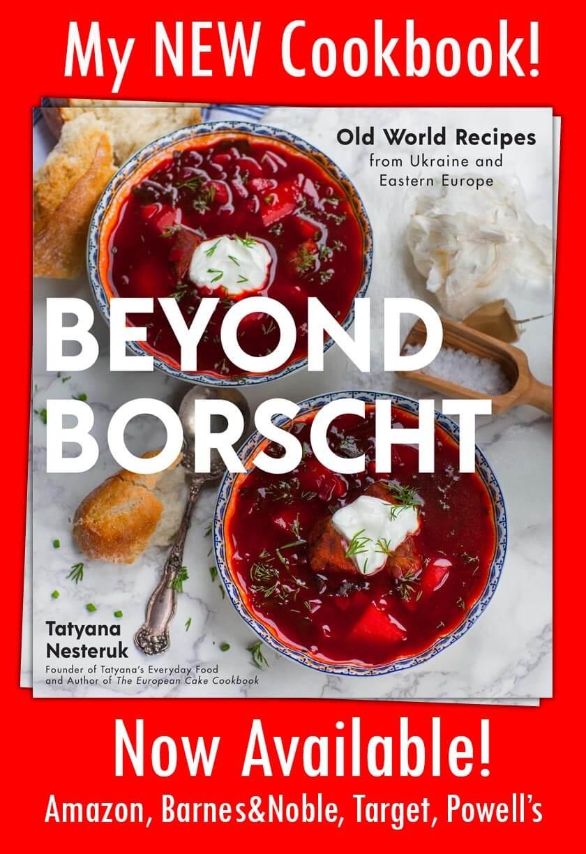 Beyond Borscht cookbook promotion
