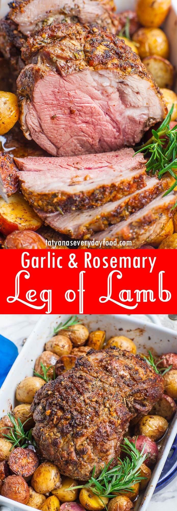 Roasted Leg of Lamb video recipe