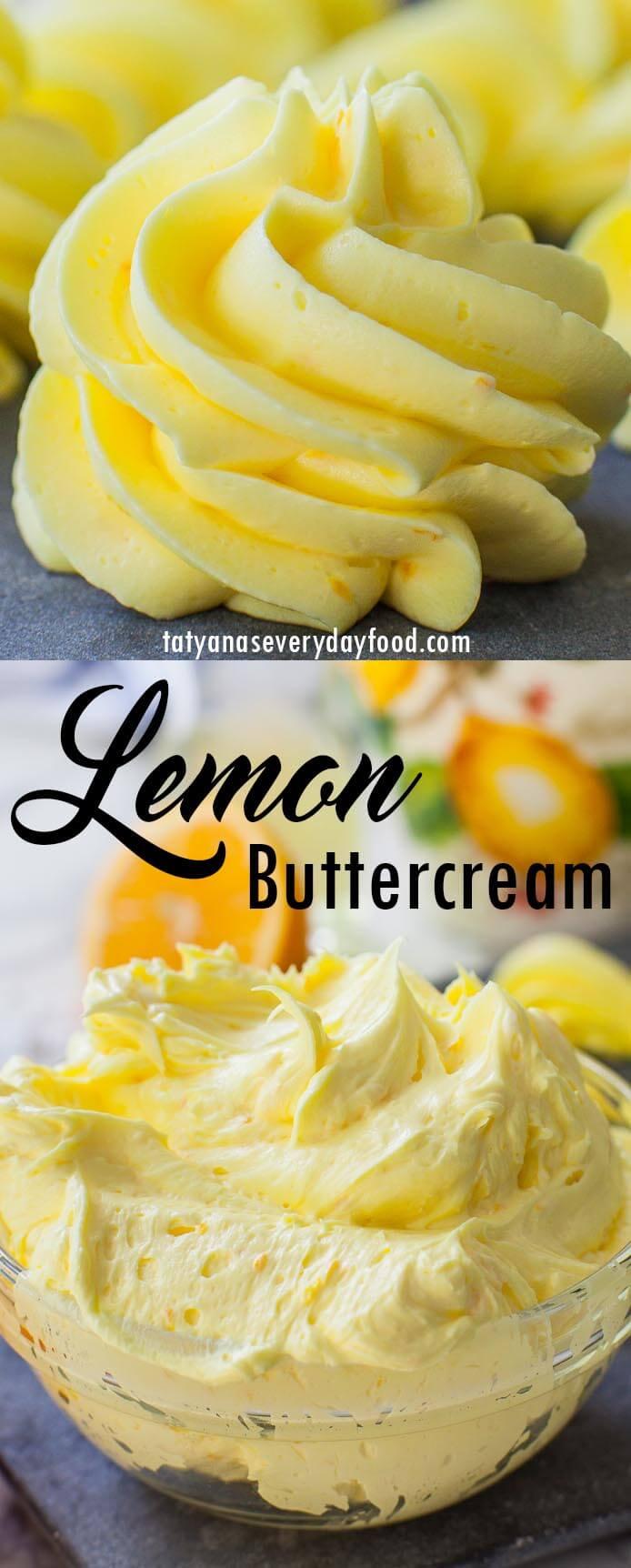The Best Lemon Buttercream video recipe