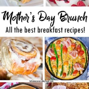 Mother's Day Brunch pinboard