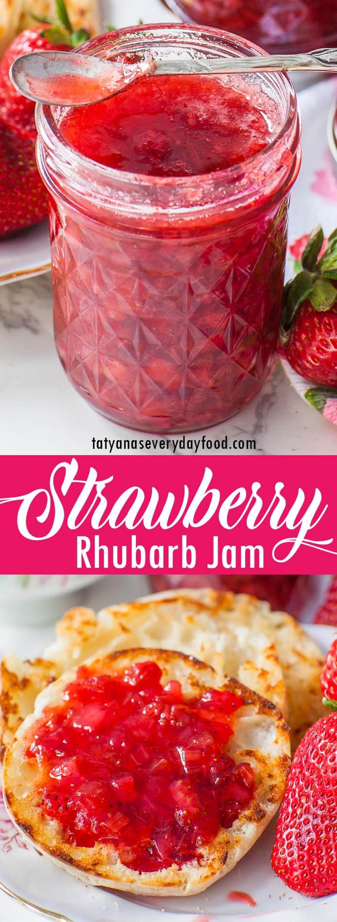 Strawberry Rhubarb Jam video recipe