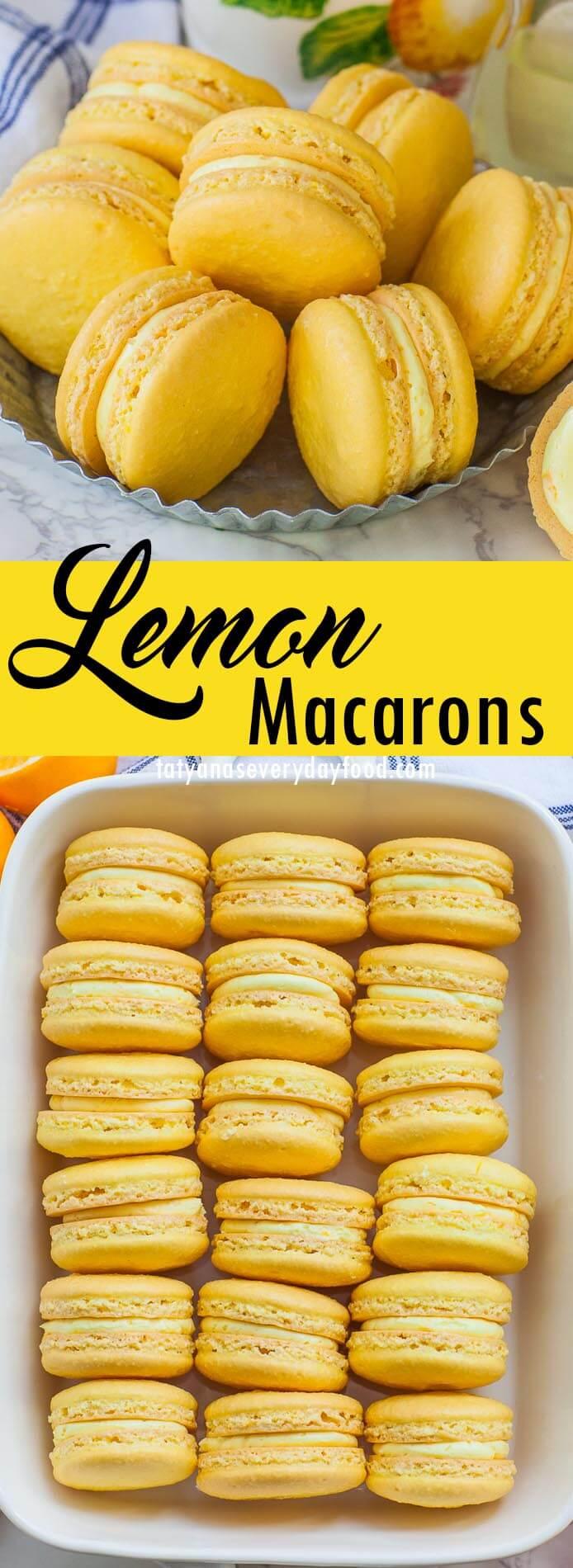 Triple Lemon Macarons video recipe