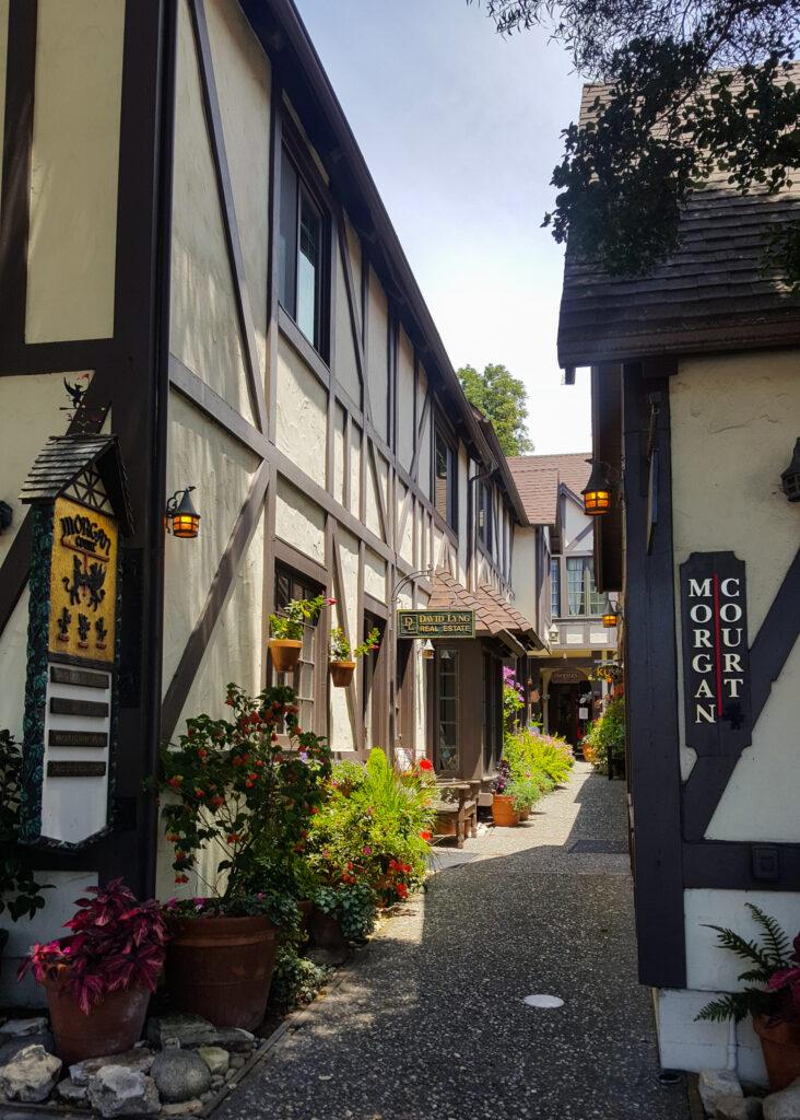 Bavarian ally in Carmel, CA