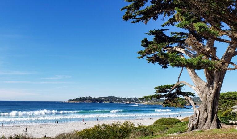 Carmel public beach
