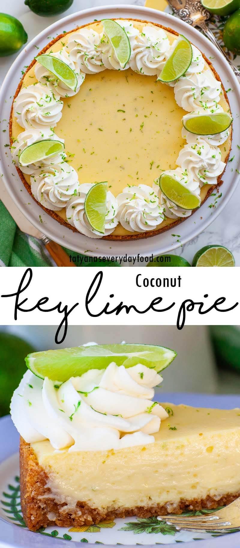 Coconut Key Lime Pie video recipe