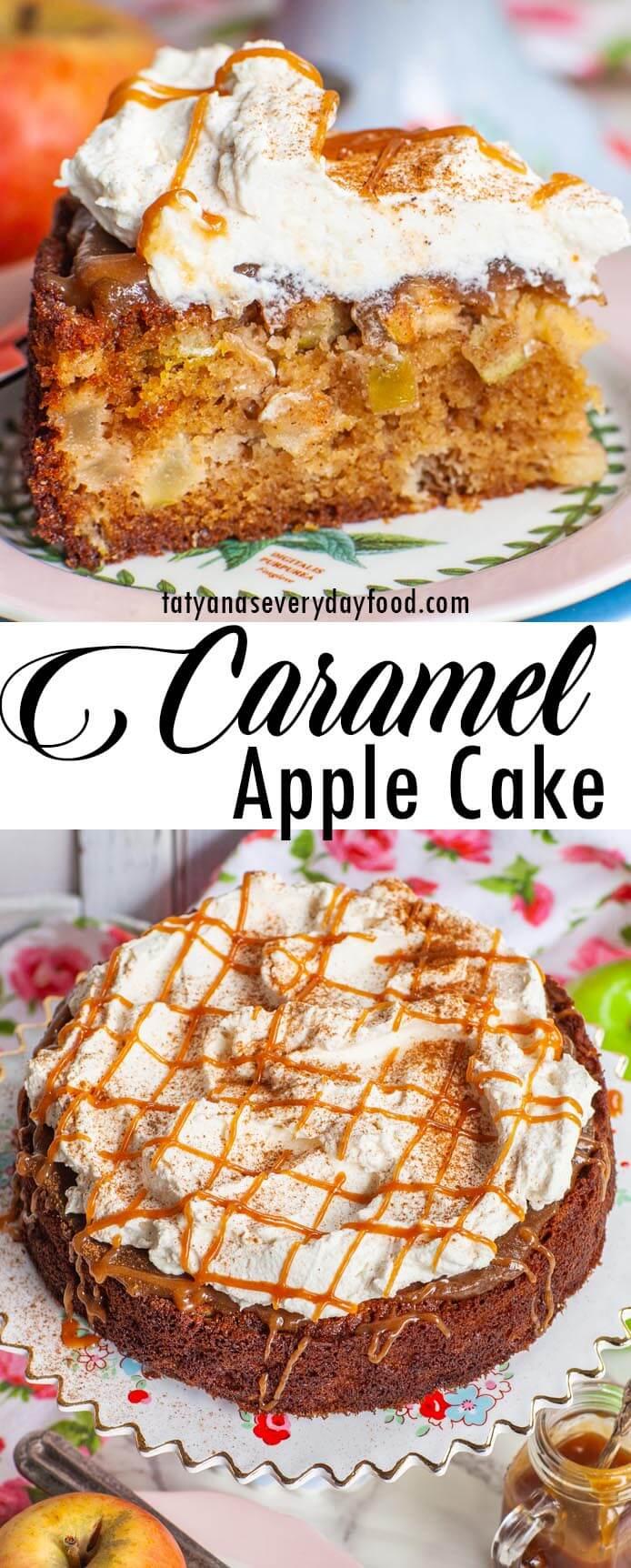 Easy Caramel Apple Cake video recipe