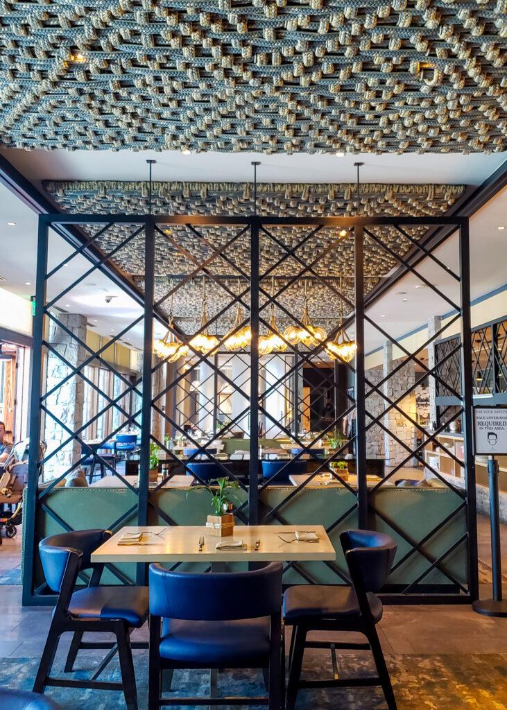 inside details of The Bistro Restaurant at Edgewood Tahoe Resort