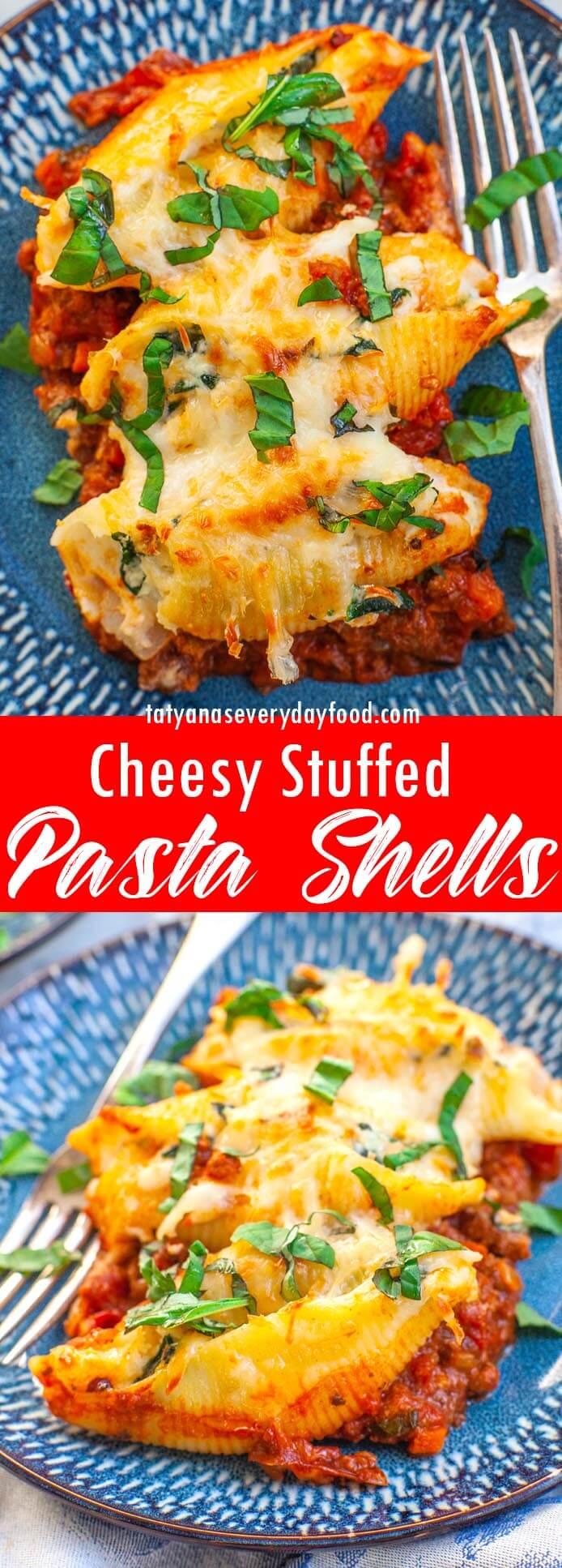 Cheesy Stuffed Pasta Shells video recipe