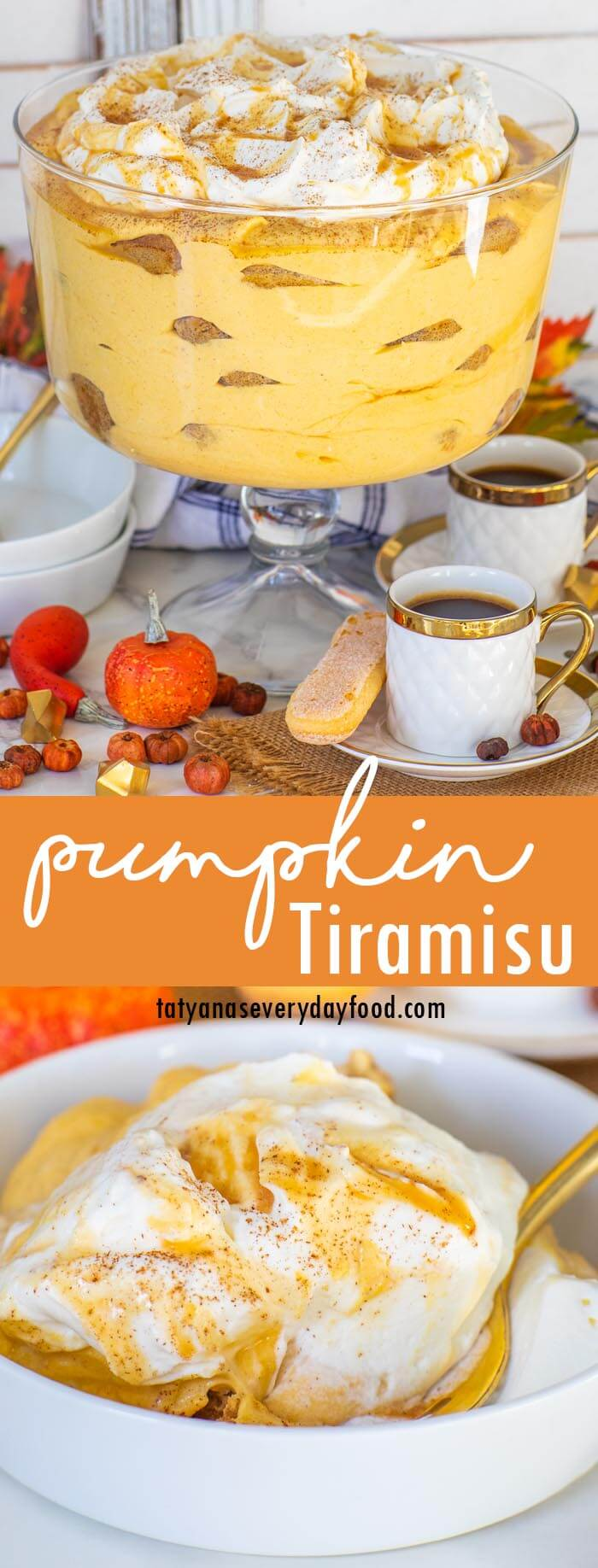 Pumpkin Tiramisu video recipe