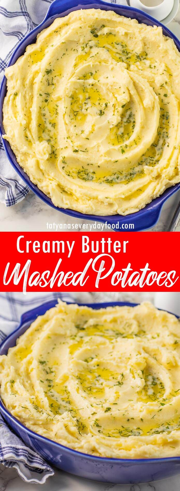 Creamy Butter Mashed Potatoes video recipe