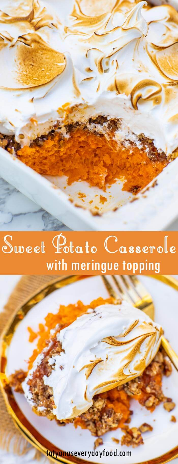 Sweet Potato Casserole video recipe