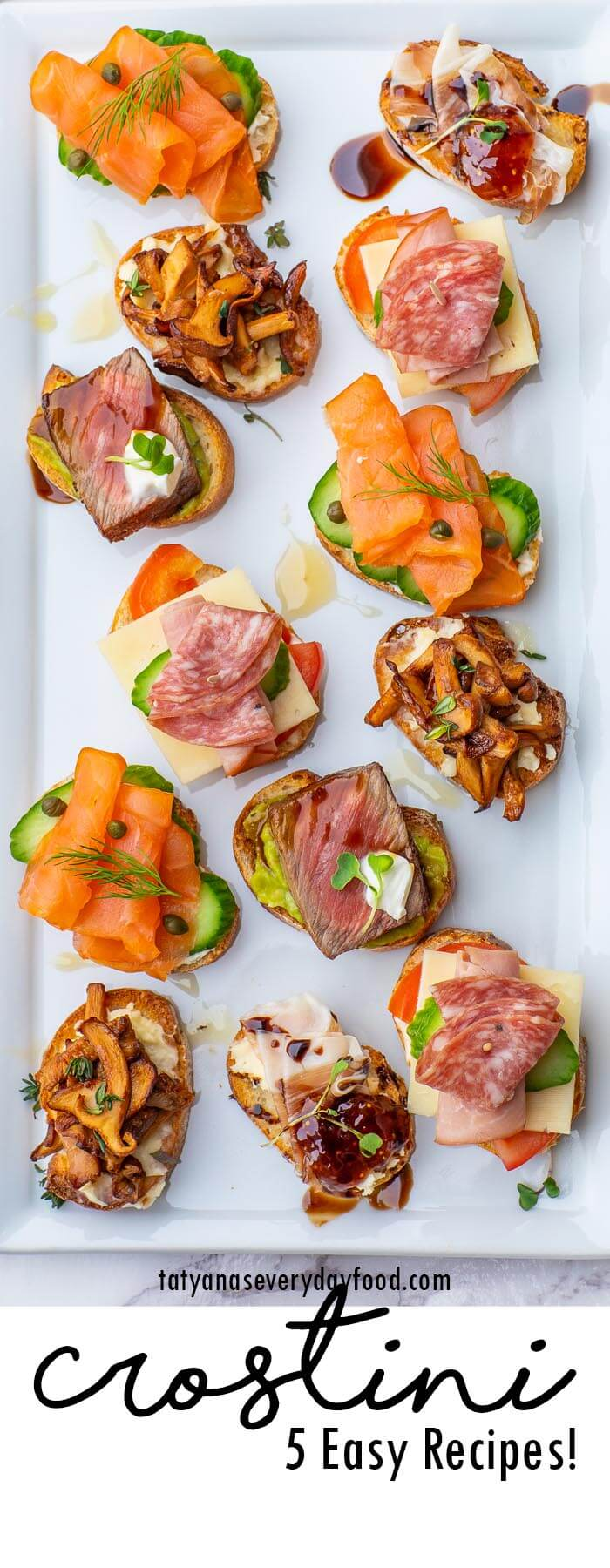 5 Easy Crostini Recipes
