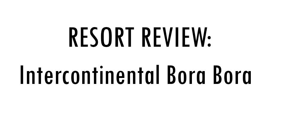 Resort Review for Intercontinental Thalasso