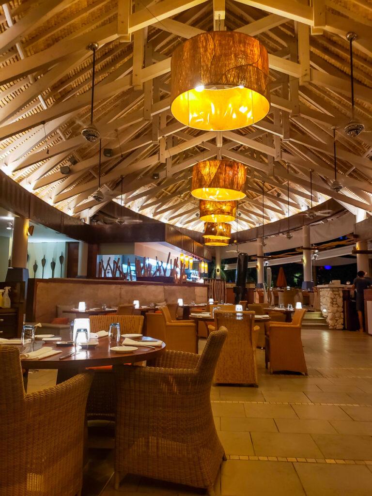 Sands restaurant in Intercontinental Thalasso