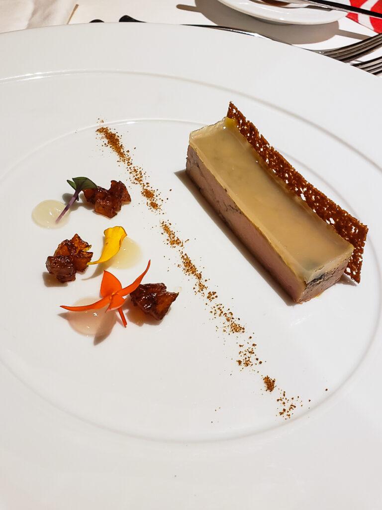 duck foie gras appetizer
