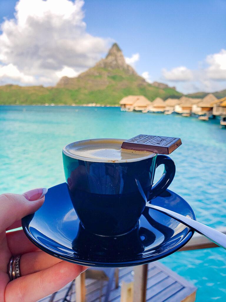 espresso in Bora bora
