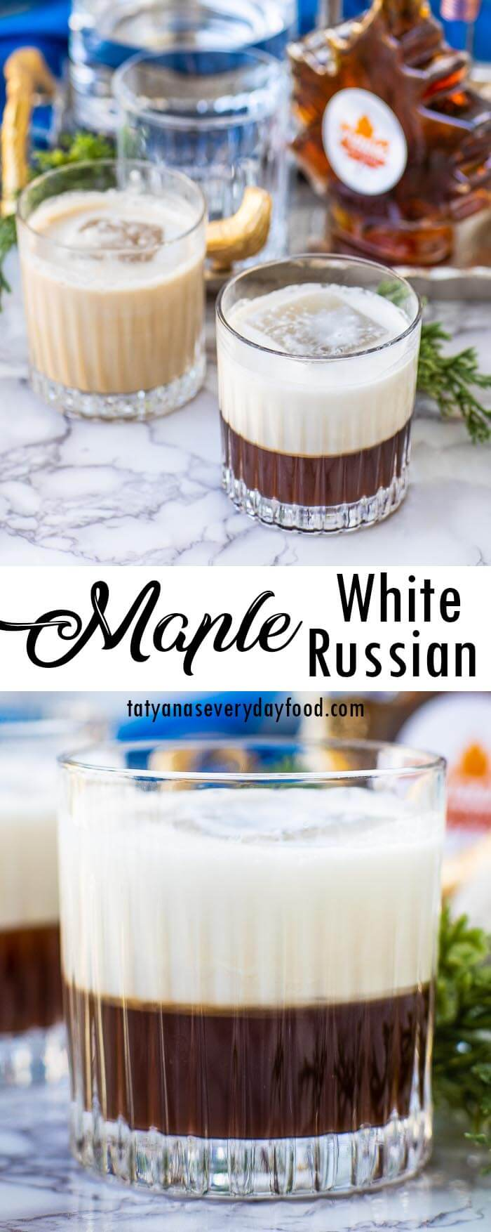 Maple White Russian video recipe