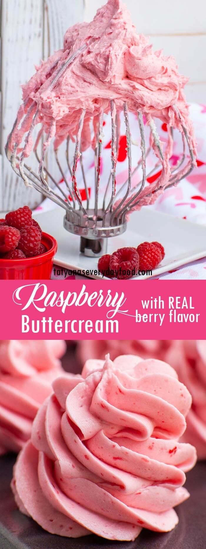Raspberry Buttercream video recipe